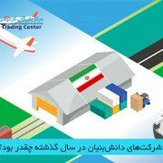 صادرات شرکتهای دانشبنیان