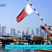 صادرات ایران به قطر و بحرین