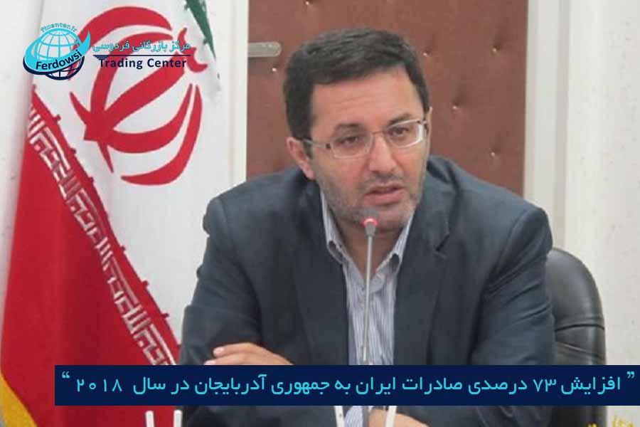 مرکز بازرگانی فردوسی-ferdowsi traditraiding center-صادرات ایران به جمهوری آدربایجان
