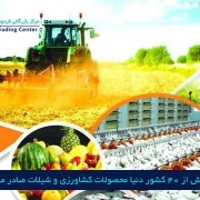 مرکز بازرگاین فردوسی-ferdowsi trading center-محصولات کشاورزی و شیلات